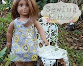 INSTANT DOWNLOAD- Raven Doll Dress Sewing PDF Pattern and Tutorial