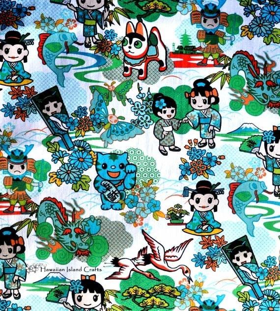 Tokidoki Japanese Anime Cartoon Fabric