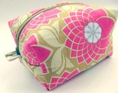 Joel Dewberry Floral Zippered Box Pouch - Small Size