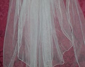 VIntage Wedding Net Tulle Veil