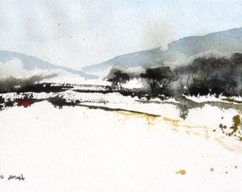 Arid Lands - Original Watercolor Painting