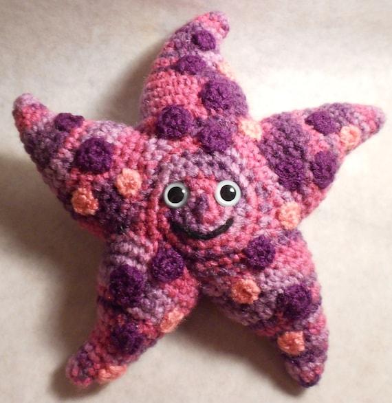 Amigurumi Starfish Pattern : Starfish Amigurumi Crochet Pattern by jessboyercrochet on Etsy