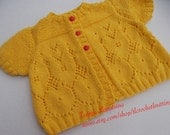 Lace Baby Girl Cardigan. 12M.