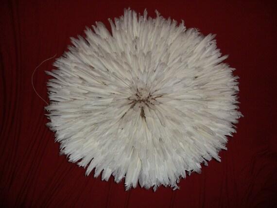 30 inch  White Juju Hat