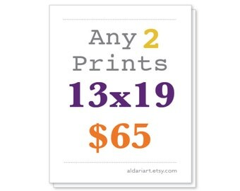 Any Two Prints 13x19