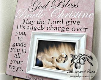 Baby Girl Baptism, Goddaughter, Godchild, Christening Gift, 16x16 The Sugared Plums Frames