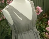 Maxi Maternity dress in Grey Color. FREE SHIPPING! Simply enter coupon code FREESHIPPING11 at checkout.