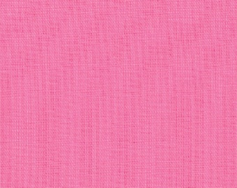 1930s Pink  #27 Bella Solids  Moda Quilt Fabric by the 1/2 yard