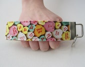 Key Fob Wristlet- Be Mine