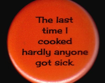 Cooking with Sarcasm Button