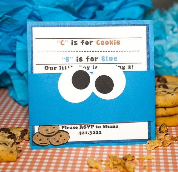 1st Birthday Ideas Cookie Monster First Party