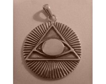 Treasures of Tutankhamun All Seeing Eye Freimaurer Masonic Historical Pendant
