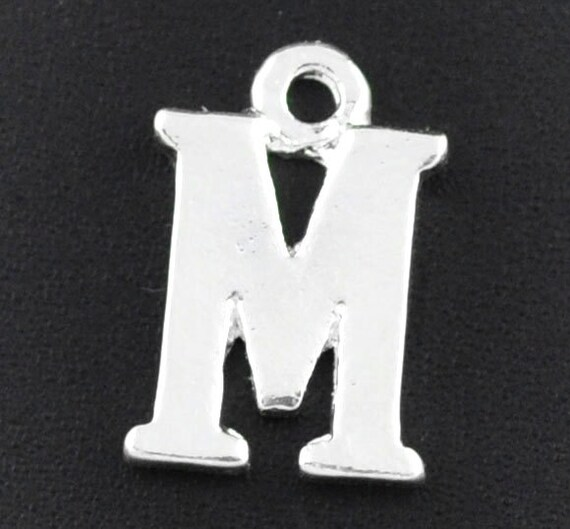 m letter in silver - photo #43