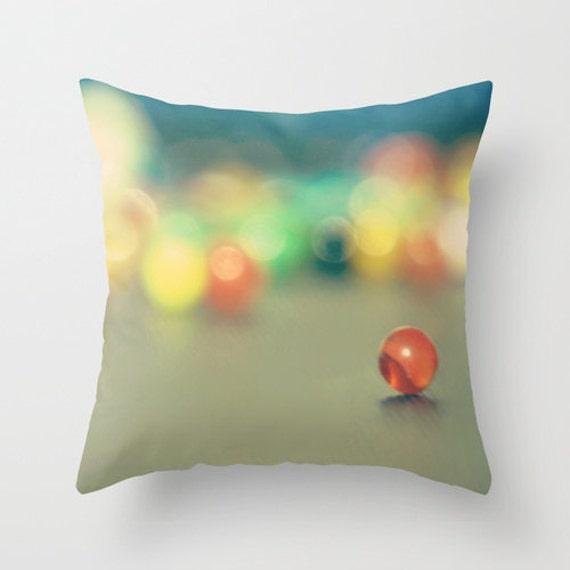 Funny Throw Pillow Covers : Art Throw Pillow Cover Marble Fun photo by SylviaCPhotography