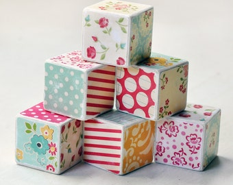 Decorative wooden blocks Granny's kitchen
