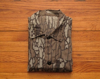mens vintage camouflage over shirt