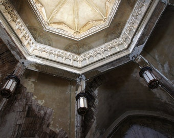 Ceiling - Fallen Church photography