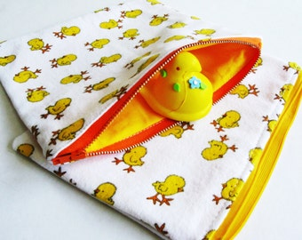 Zip Pouch, Pouch Set, Chicks, Spring Chickens
