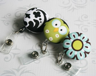 3 PACK - Retractable Badge / ID Holder Reel - Any 3 From My Shop