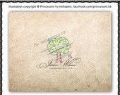 Custom Premade Logo Design - sketch hand drawn doodle birds heart tree photography logo business boutique logo by princess mi logo1255-9