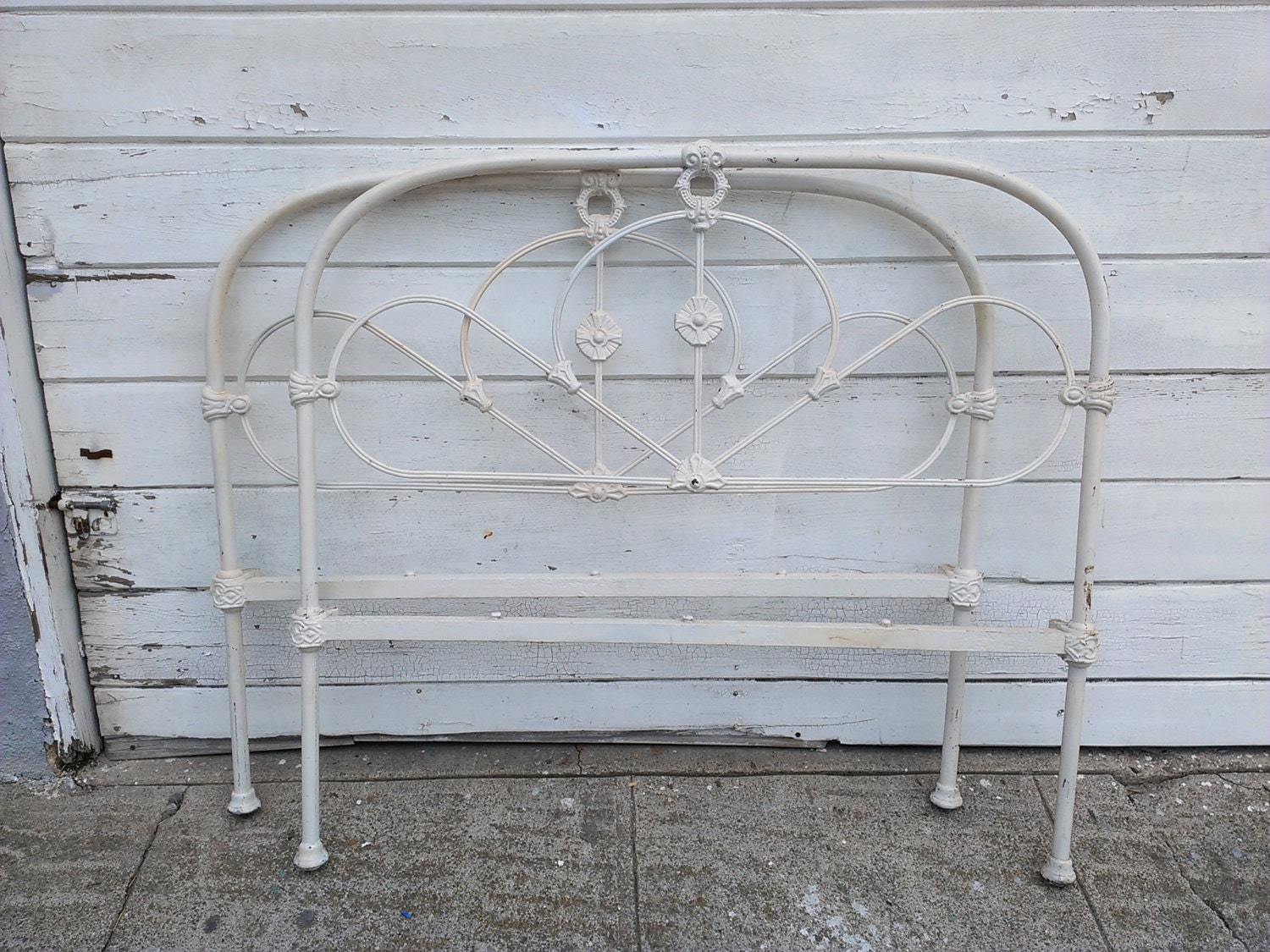 Antique iron bed rails - Unavailable Listing On Etsy