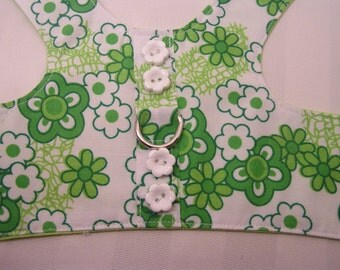 Lime Green Floral, Medium
