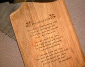 Mother's Cutting Board - CUSTOMIZE for your Mom