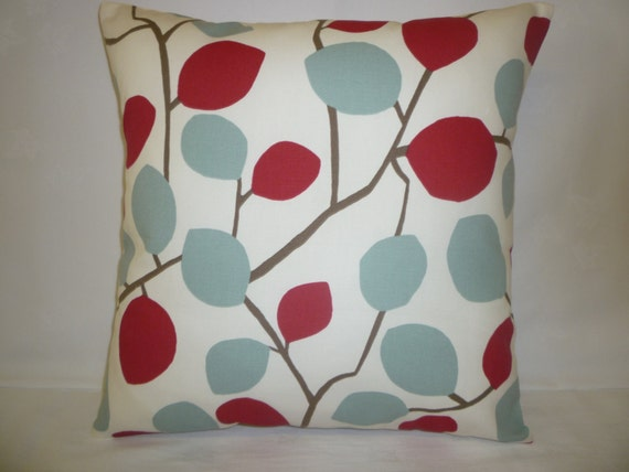 pillow color choices red duck egg blue designer cushion cover. Black Bedroom Furniture Sets. Home Design Ideas