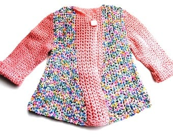 ANCIENT PINK fancy girl cardigan