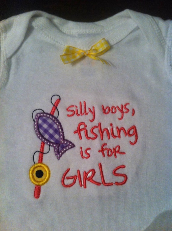 Unavailable listing on etsy for Baby fishing outfit