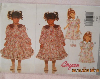 Butterick 3814  Childrens dress mid calf