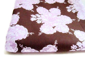 Chloes Imagination Fabric by Tina Givens, Fortiny Chocolate OOP