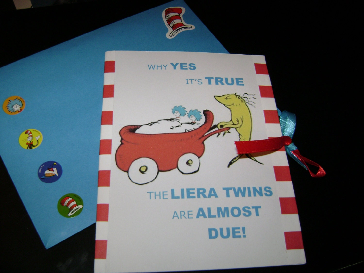 dr seuss themed baby shower book invitations