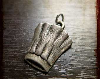 Vintage French Chef Top pendant - Miniature object Jewelry pendant from Lyon France
