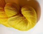 Golden sunshine Stardust Celestial Lace weight yarn