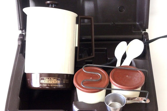 Travel Coffee Maker Kit : Empire Travl-Mate Coffee Maker Vintage Travel Coffee Maker