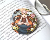 Pocket Mirror - Snail Fairy - The Muse