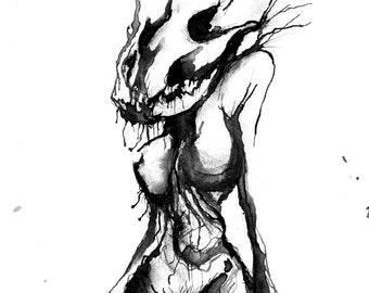 Skull Fucked - Matte Print
