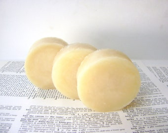 Coconut Shampoo Bar, Handmade Vegan, Jojoba and Shea