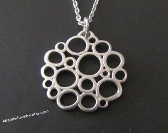 Bubble Necklace Pendant Necklace Jewelry Gift