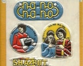 Vintage 1979 Puffy Mork and Mindy Sticker Sheet NIP by Paramount Pictures