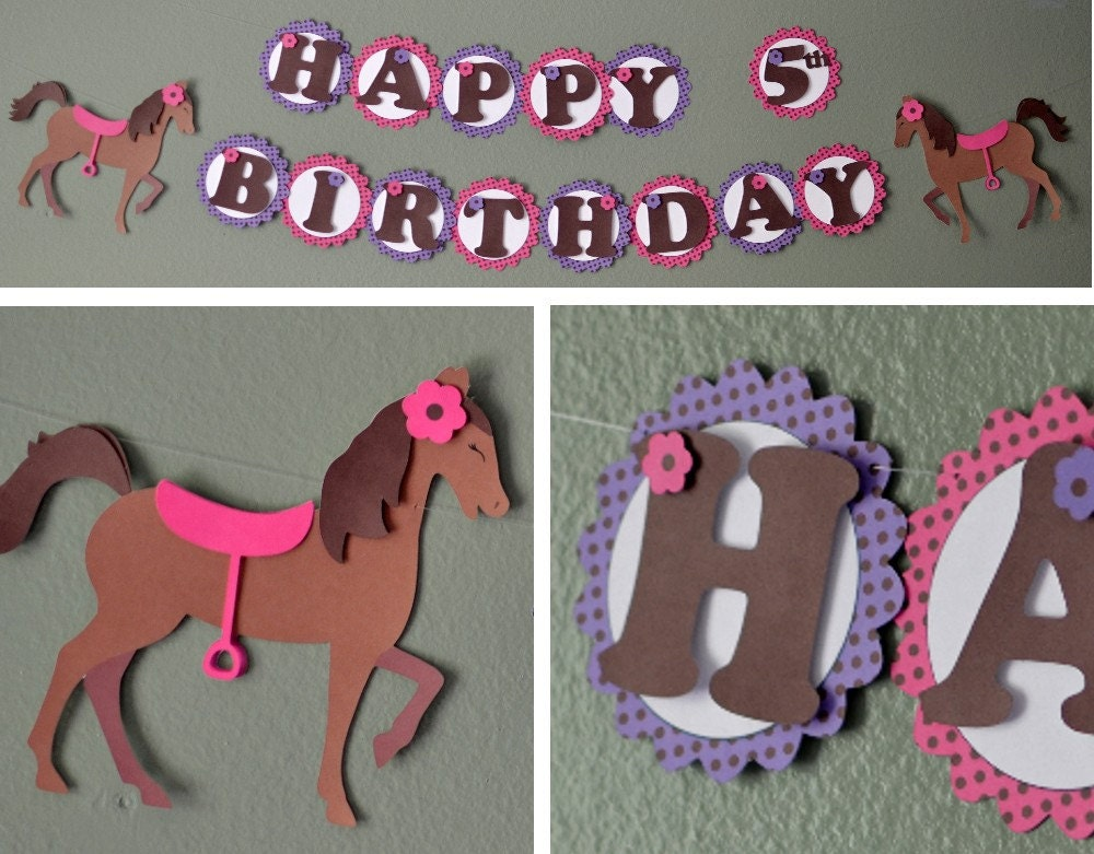 My Little Pony Birthday Banner or Baby Shower Party