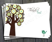 Baby Shower Thank You Card - Printable Thank You Card - Gender Neutral