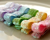 Gretchen - Infant snap clips set of 6 in sparkling spring colors