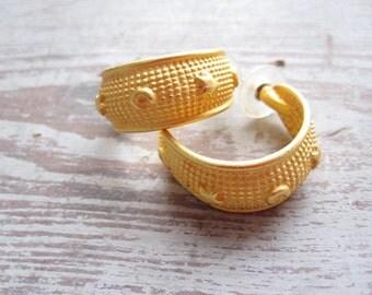 Anne Klein Hoop Earrings