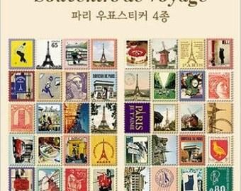 80 kinds Korea DIY Picture Stickers Paper Stamps Small Stickers - Souvenirs De Voyage