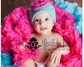 Crochet Baby Hat / Newborn Girl Hat / Girls Beanie / Girls Hat / Toddler Girl Hat / Baby Girl Hat / Crochet Girls Hat / Hats For Girls