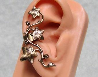 Forest Ivy Ear Cuff