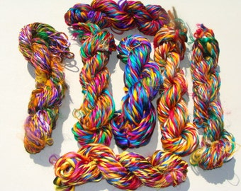 NEW Beautiful and Colorful And Vibrant Cut Sari Yarn Between 42 To 48 Yards Average