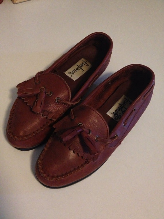 vintage loafers, size 6 1/2